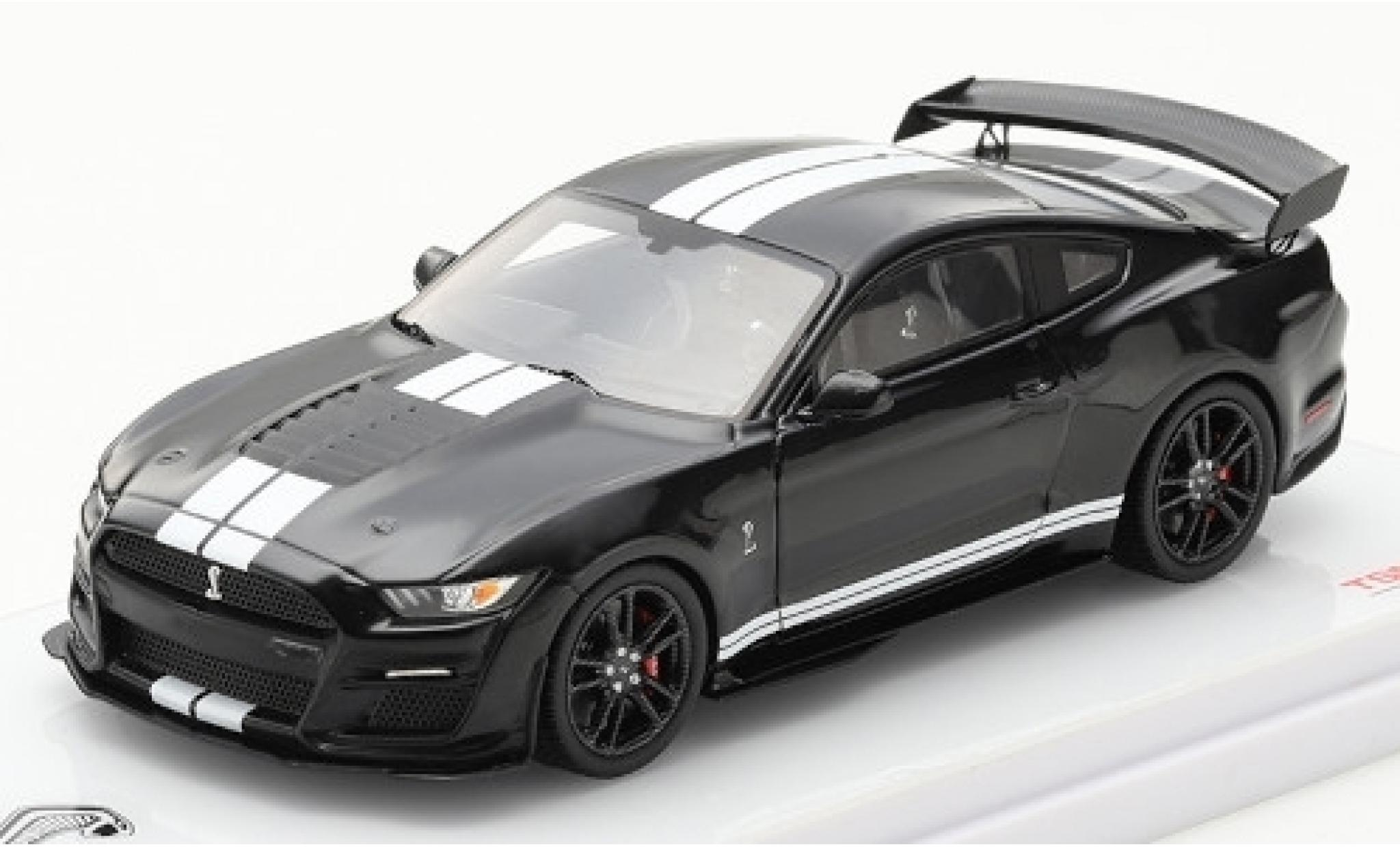 Ford Mustang 1/43 TrueScale Miniatures Shelby GT500 schwarz/weiss