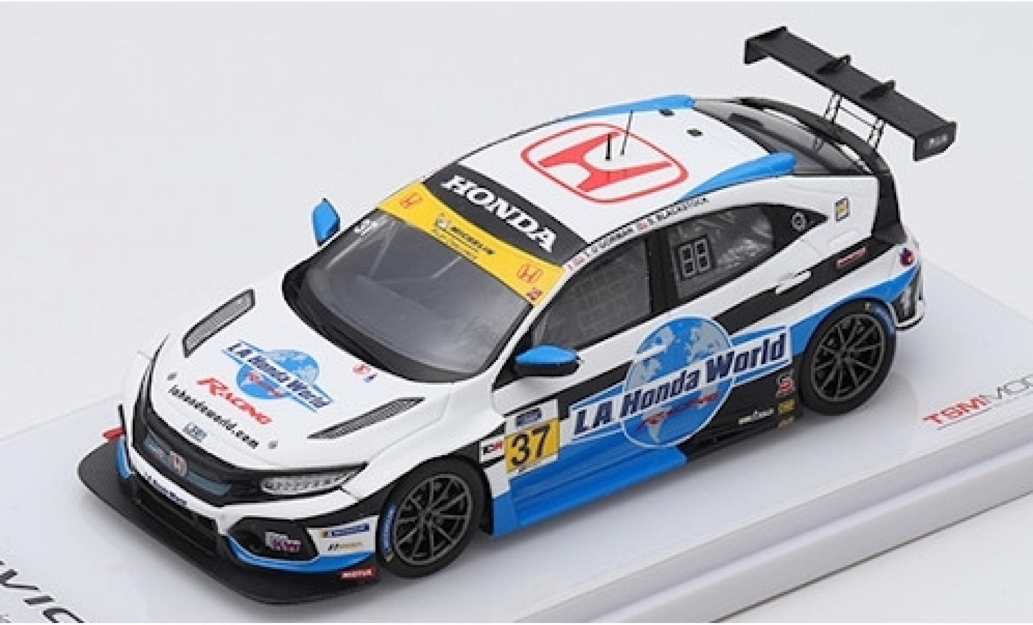 Honda Civic 1/43 TrueScale Miniatures Type R TCR No.37 LA World Racing 24h Daytona 2019 T.O Gorman/S.Blackstock