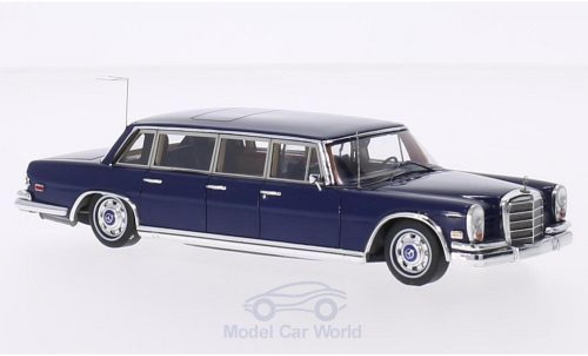 Mercedes 600 1/43 TrueScale Miniatures (W100) Pullman blue 1969 Elvis Presley