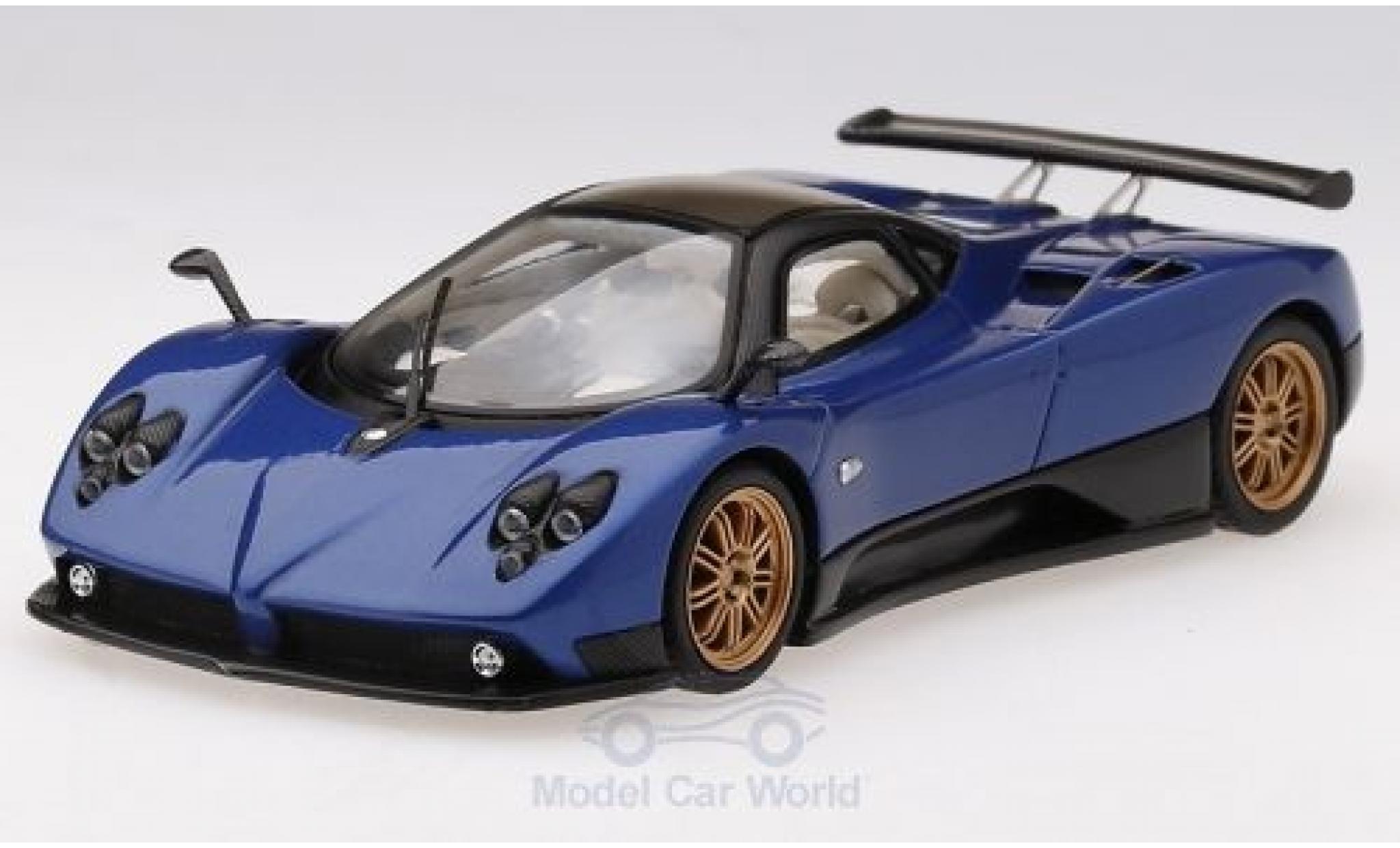 Pagani Zonda 1/43 TrueScale Miniatures F metallise bleue 2006