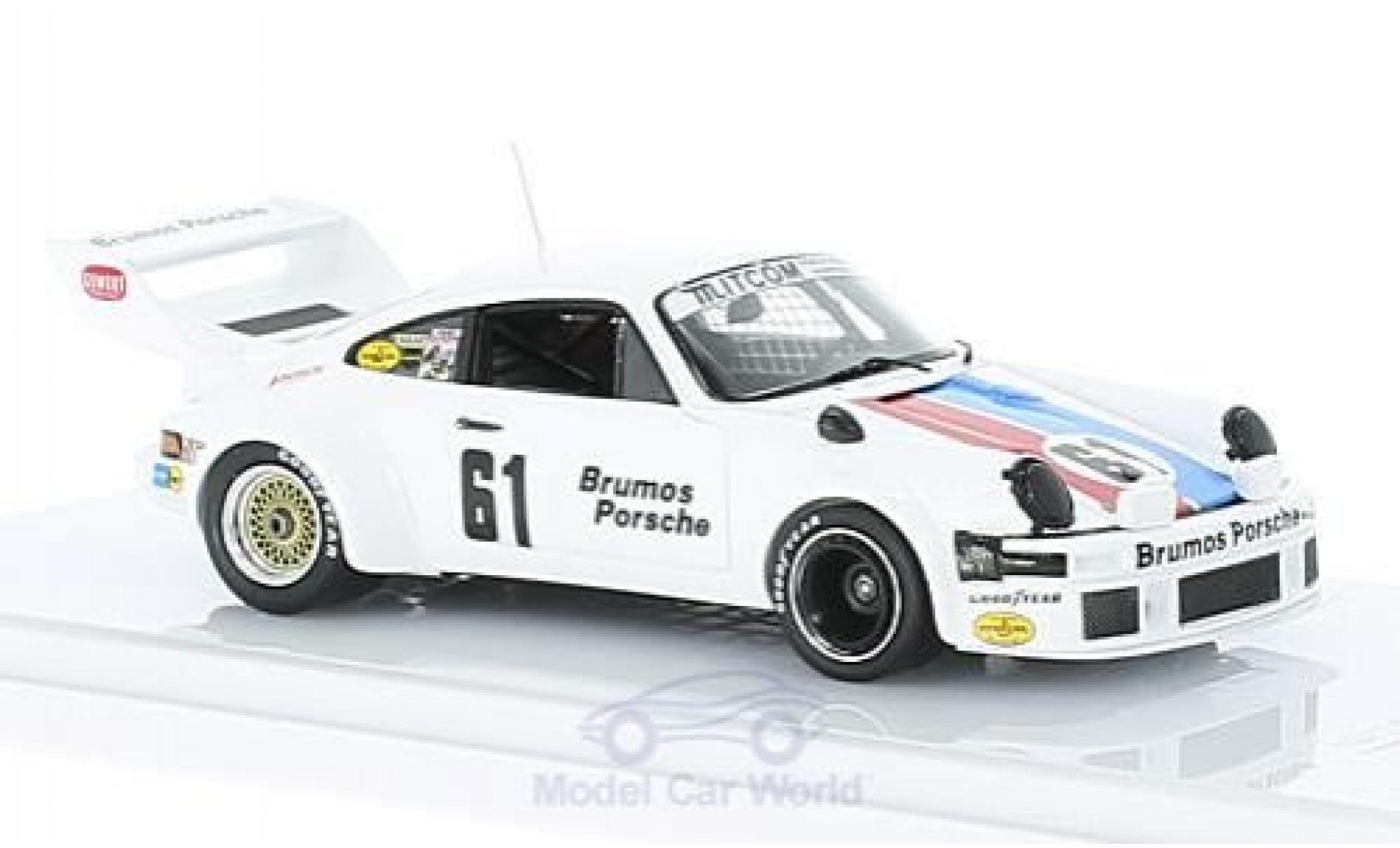 Porsche 934 1/43 TrueScale Miniatures /5 No.61 Brumos Racing 12h Sebring 1977 J.Busby/P.Gregg