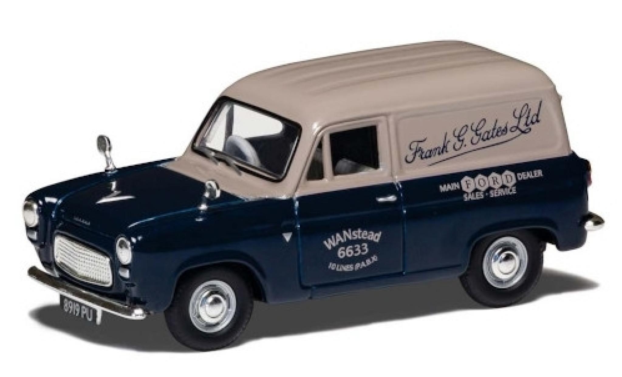 Ford 300E 1/43 Vanguards Thames Van RHD Frank G. Gates Ltd - Dealer