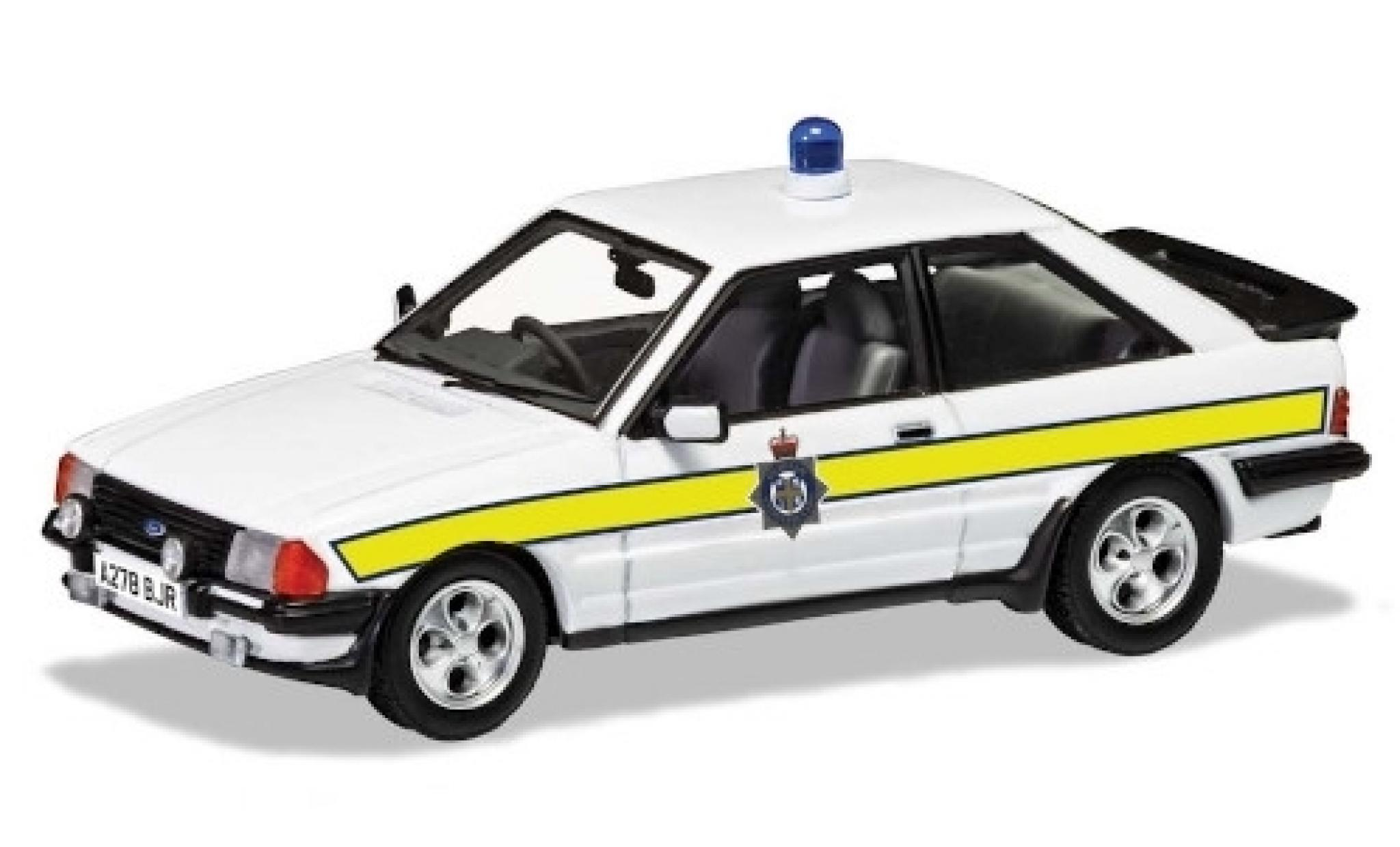 Ford Escort 1/43 Vanguards Mk III XR3i RHD Durham Constabulary 1983