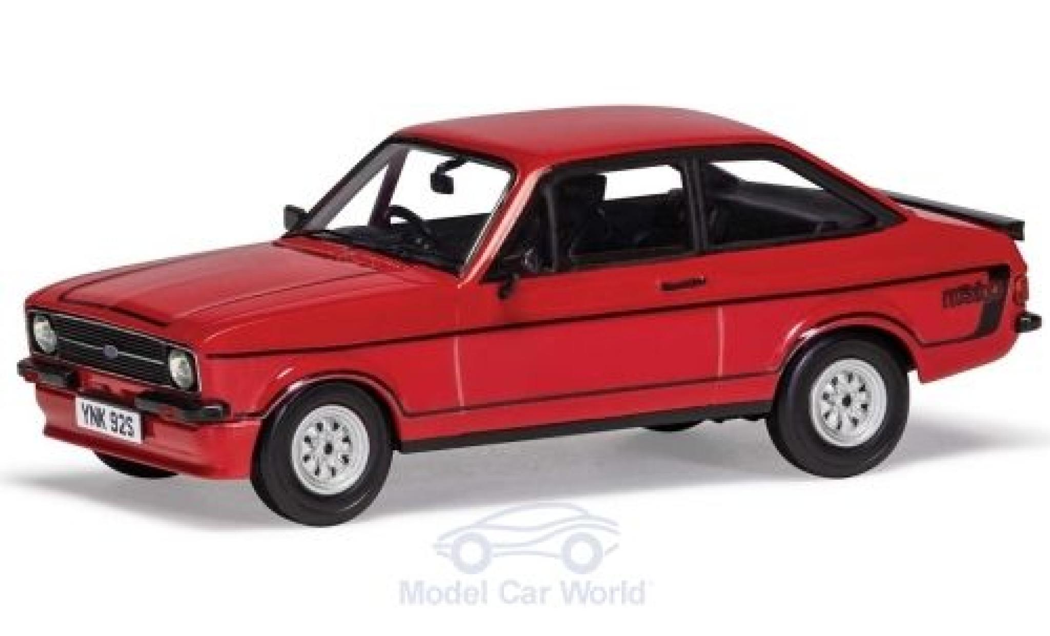 Ford Escort 1/43 Vanguards MkII RS Mexico rouge RHD 1975