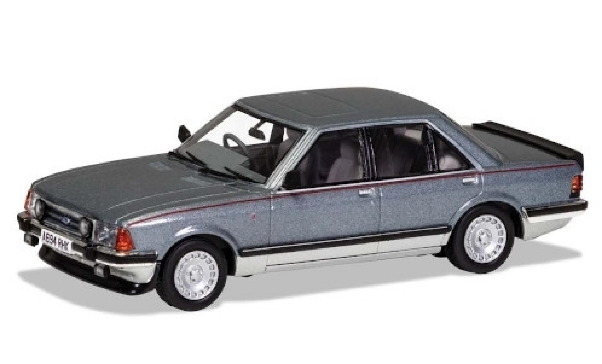 Ford Granada 1/43 Vanguards Mk II 2.8i Ghia X metallise grise/grise RHD 1983