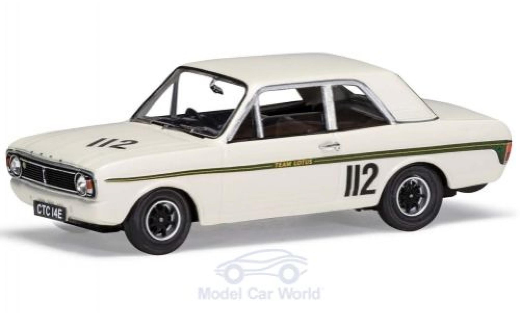 Ford Lotus 1/43 Vanguards Cortina Mk2 FVA RHD British Saloon Car Championship 1967 G.Hill