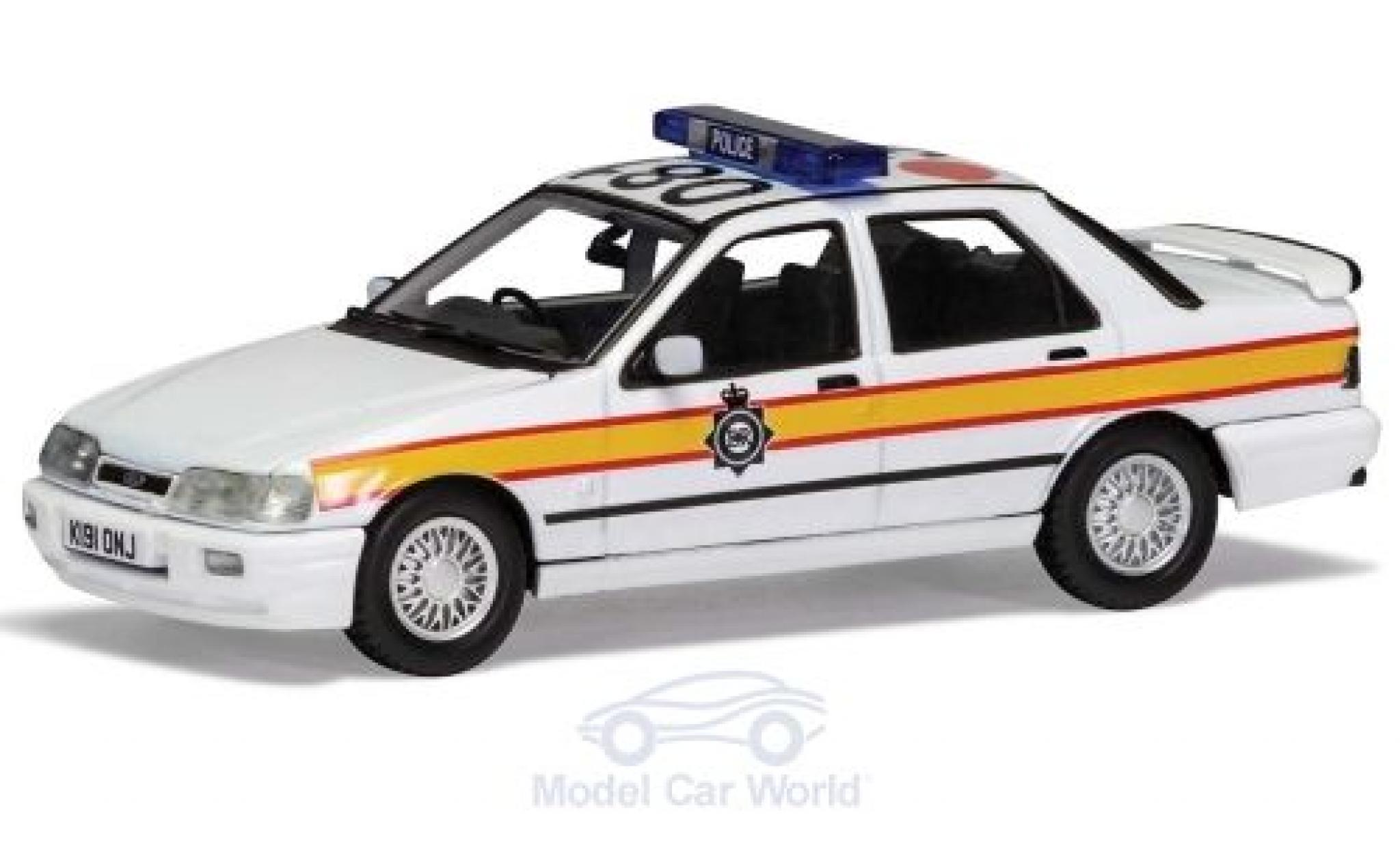 Ford Sierra 1/43 Vanguards Sapphire RS Cosworth 4x4 RHD Sussex Police 1990