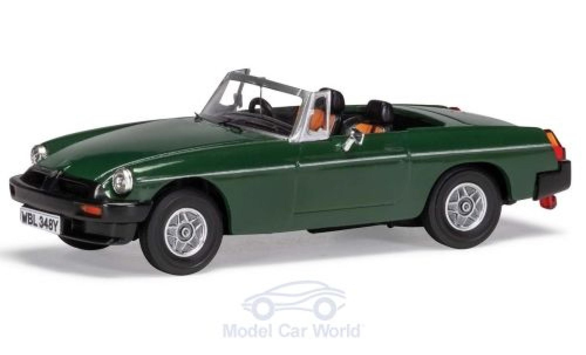 MG B 1/43 Vanguards Roadster V8 green RHD Don Hayters car