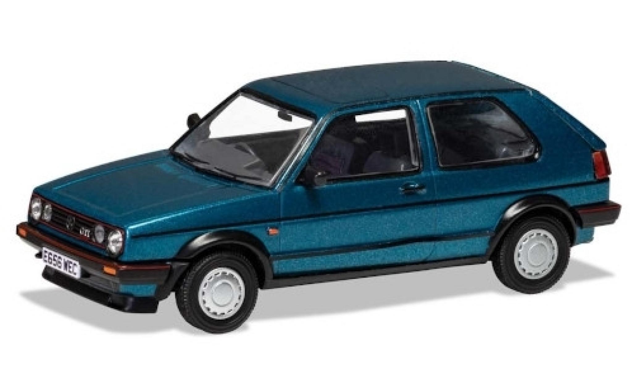 Volkswagen Golf 1/43 Vanguards MkII GTi 16V metallise bleue RHD