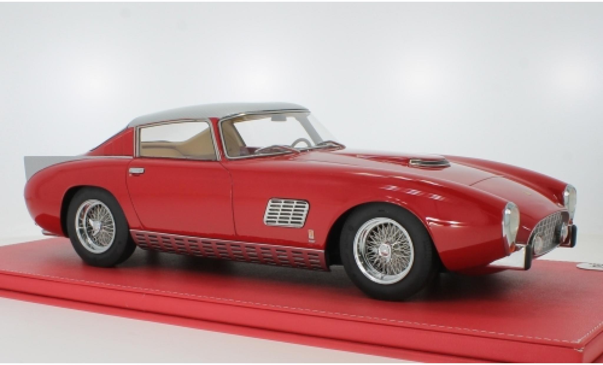 Ferrari 410 1/12 Vip Scale Models Superamerica Scaglietti Coupe red/grey 1957 im Koffer