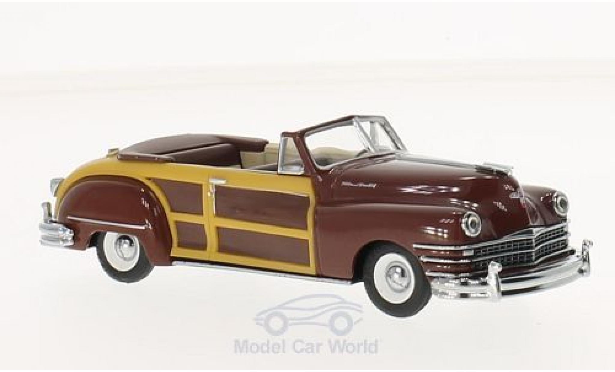 Chrysler Town & Country 1/43 Vitesse marron