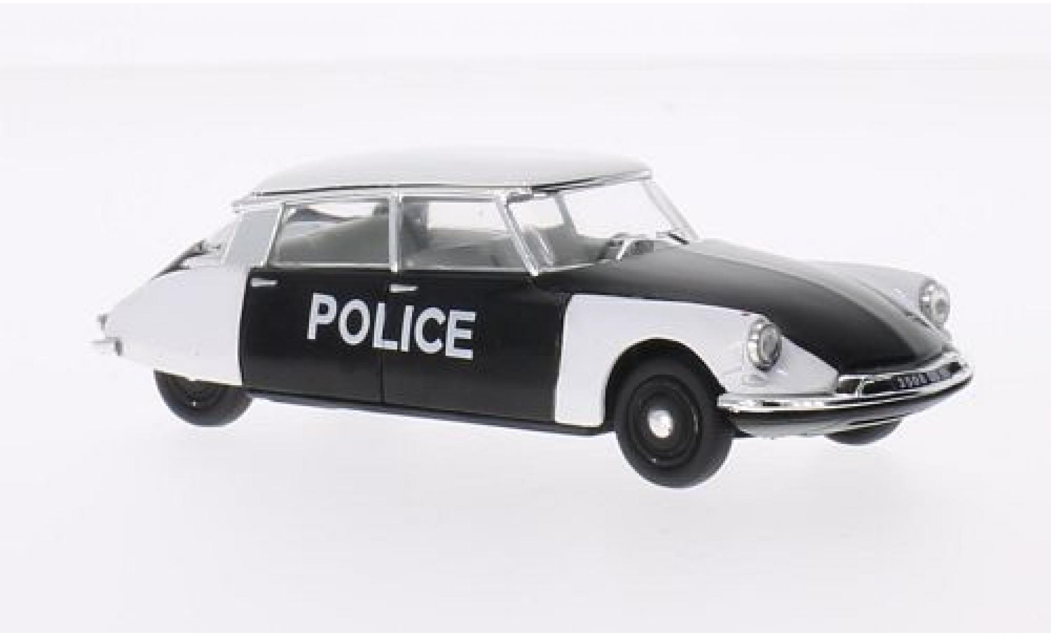 Citroen DS 1/43 Vitesse 19 Polizei (F) 1960 Police de Paris
