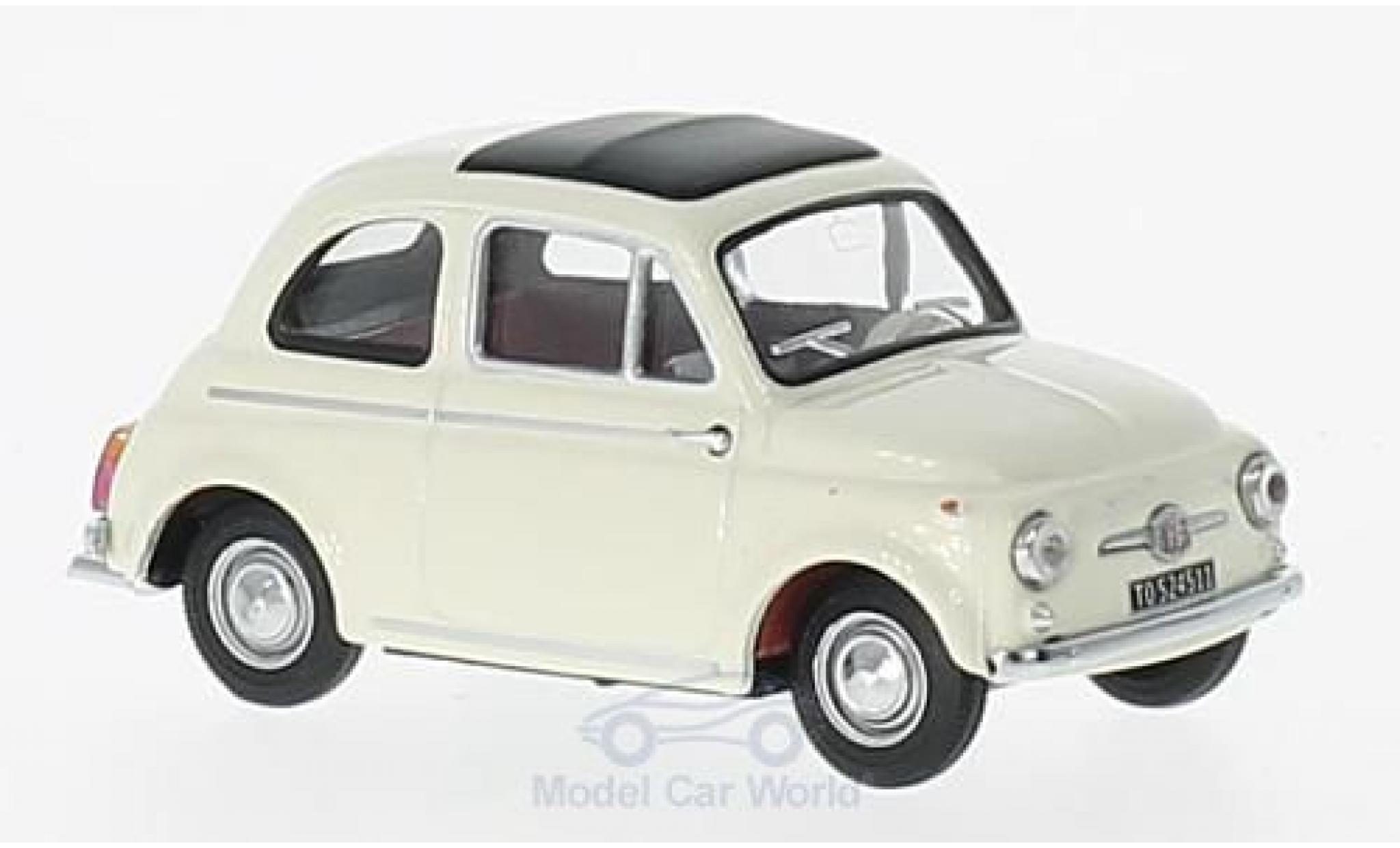 Fiat 500 F 1/43 Vitesse D white 1965