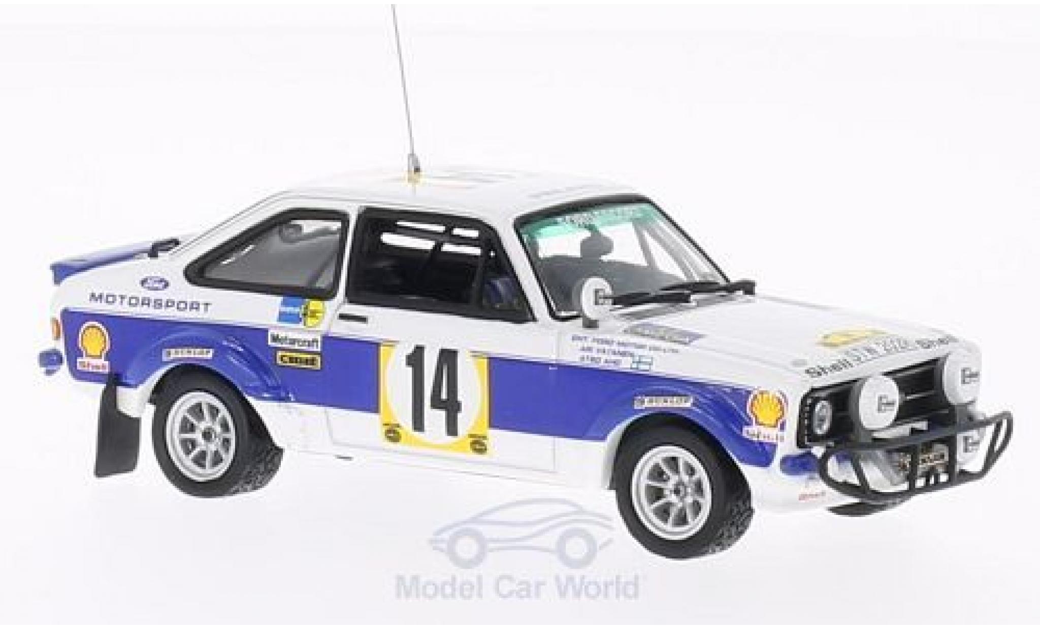 Ford Escort MKI 1/43 Vitesse I RS1800 No.14 Safari Rally 1977 A.Vantanen/A.Aho