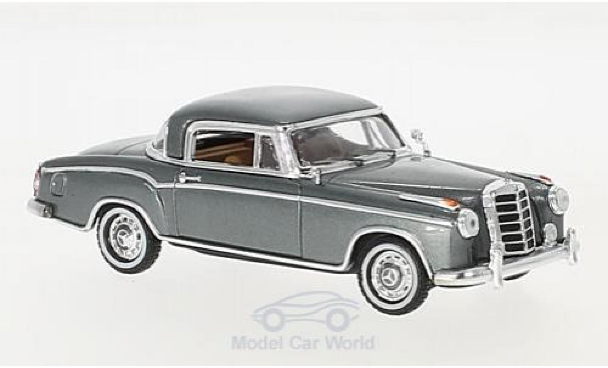 Mercedes 220 SE 1/43 Vitesse SE Coupe metallic-grise 1958