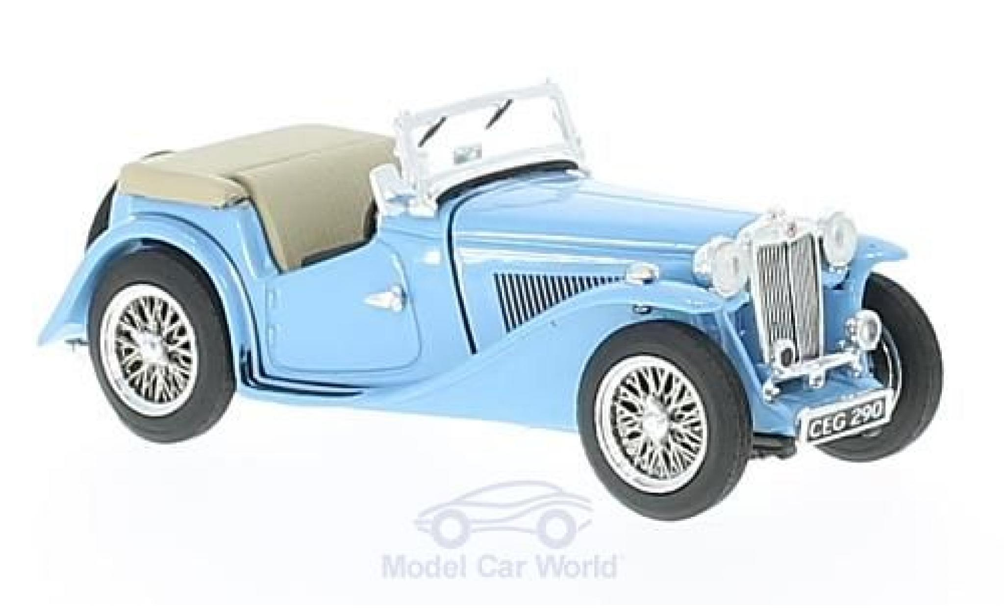 MG TC 1/43 Vitesse blue RHD