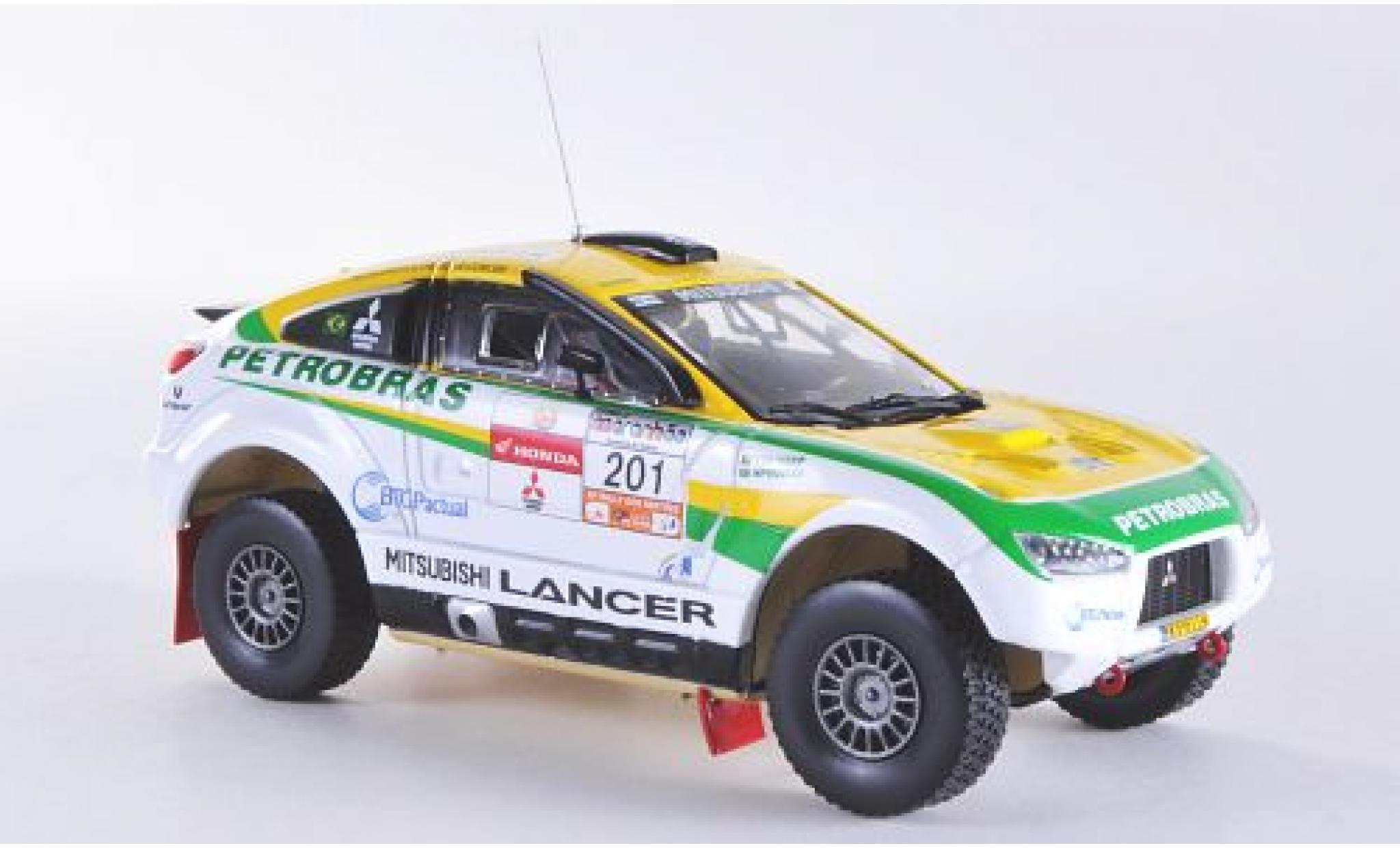 Mitsubishi Racing Lancer 1/43 Vitesse No.201 Rally dos Sertoes 2012 G.Spinelli/H.Youssef