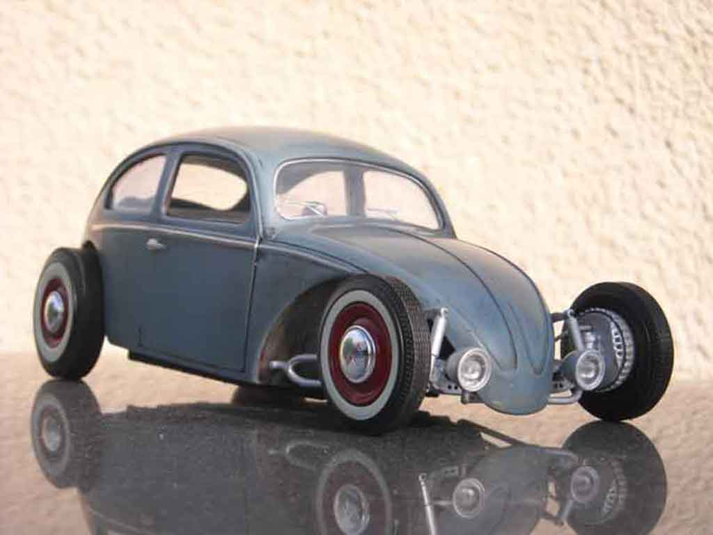 Volkswagen Kafer Hot Rod 1/18 Solido volksrod tuning modellautos