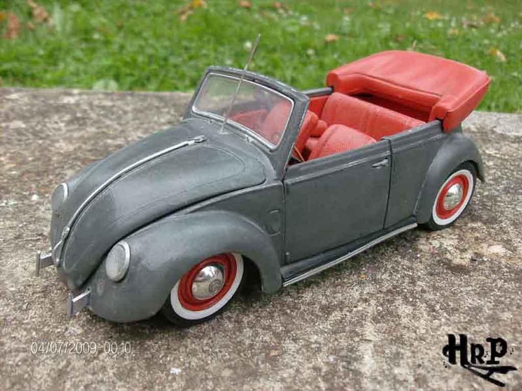 Volkswagen Kafer 1/18 Solido resto cal tuning coche miniatura