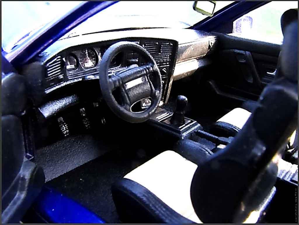 Volkswagen Corrado VR6 1/18 Revell kit carrosserie rieger jantes bbs pneux flans tendus