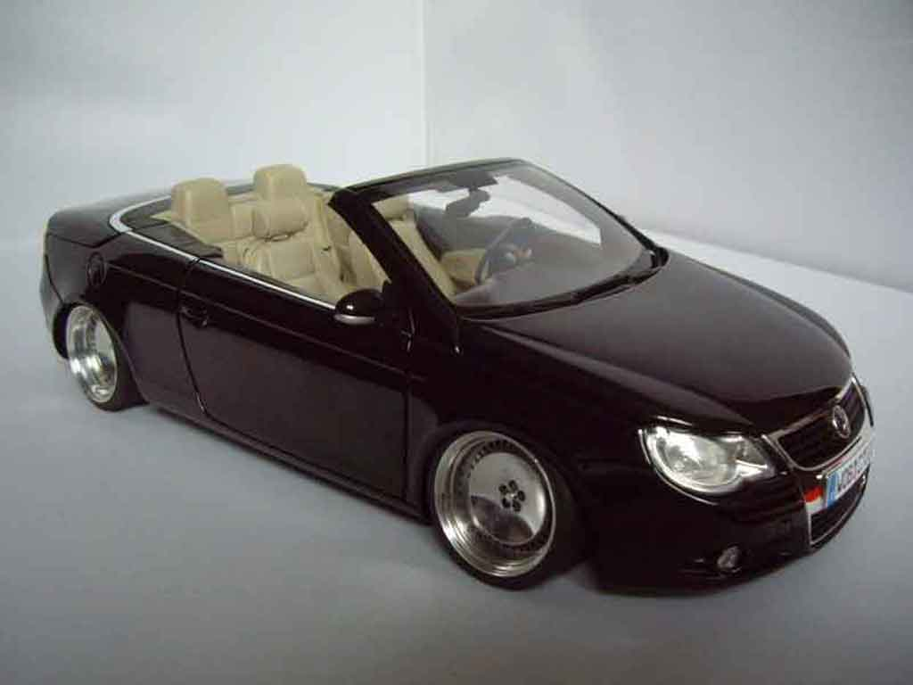 volkswagen eos miniature german look norev 1 18 voiture. Black Bedroom Furniture Sets. Home Design Ideas
