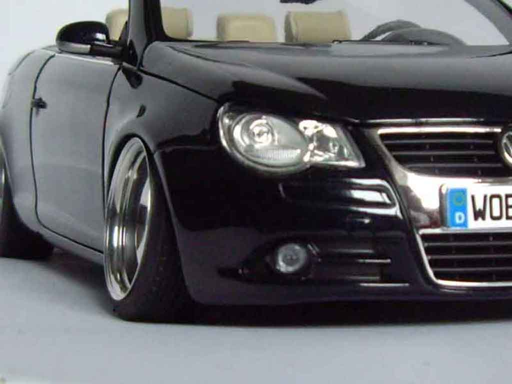 Volkswagen Eos 1/18 Norev german look tuning miniature