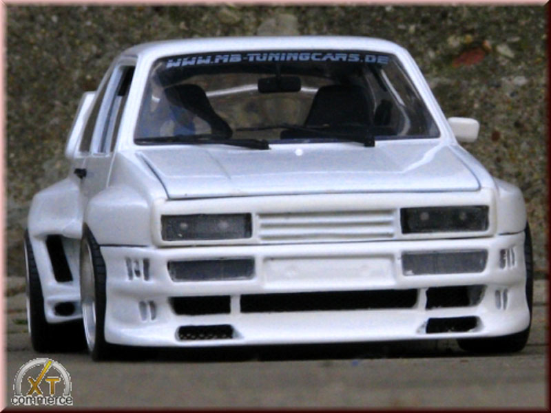 Volkswagen Golf 1 GTI 1/18 Solido kit carrosserie gto rieger white tuning diecast model cars