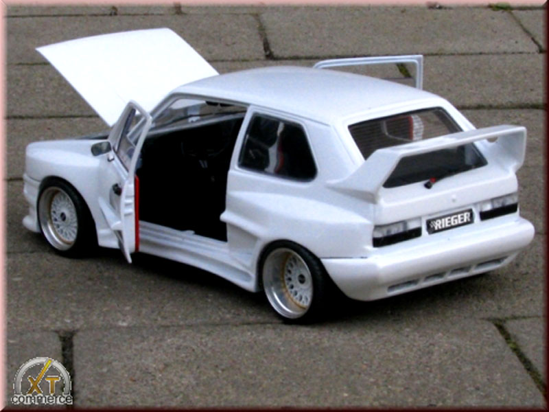 Volkswagen Golf 1 GTI 1/18 Solido kit carrosserie gto rieger weiss