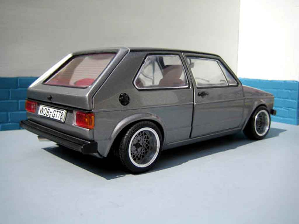 volkswagen golf 1 gti miniature swap moteur audi tt sun star 1 18 voiture. Black Bedroom Furniture Sets. Home Design Ideas