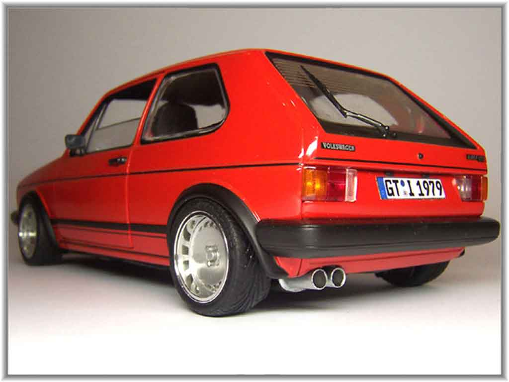 volkswagen golf 1 gti red wheels 15 inches ronal turbo solido diecast model car 1 18 buy sell. Black Bedroom Furniture Sets. Home Design Ideas