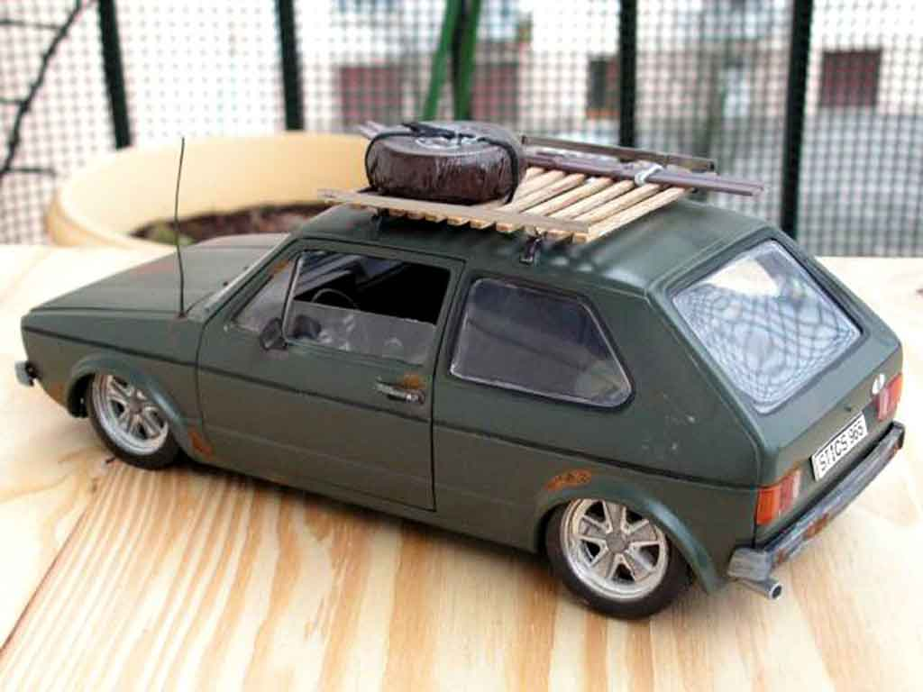 volkswagen golf 1 gti rusty solido modellauto 1 18 kaufen verkauf modellauto online. Black Bedroom Furniture Sets. Home Design Ideas