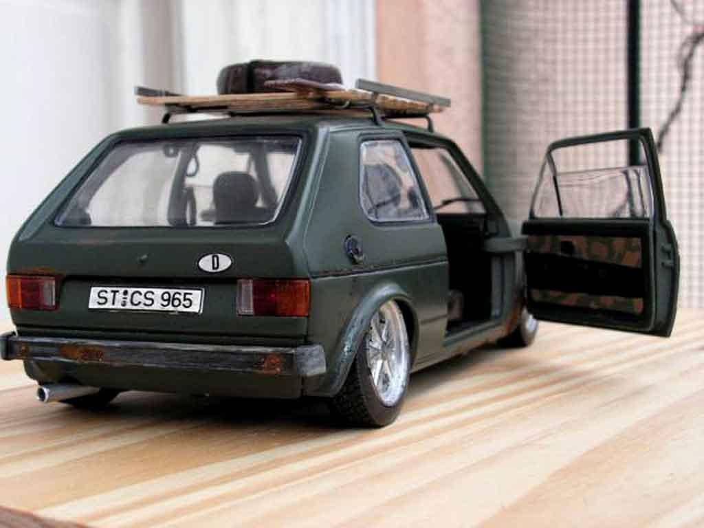Volkswagen Golf 1 Gti Rusty Solido Diecast Model Car 1 18 Buy Sell