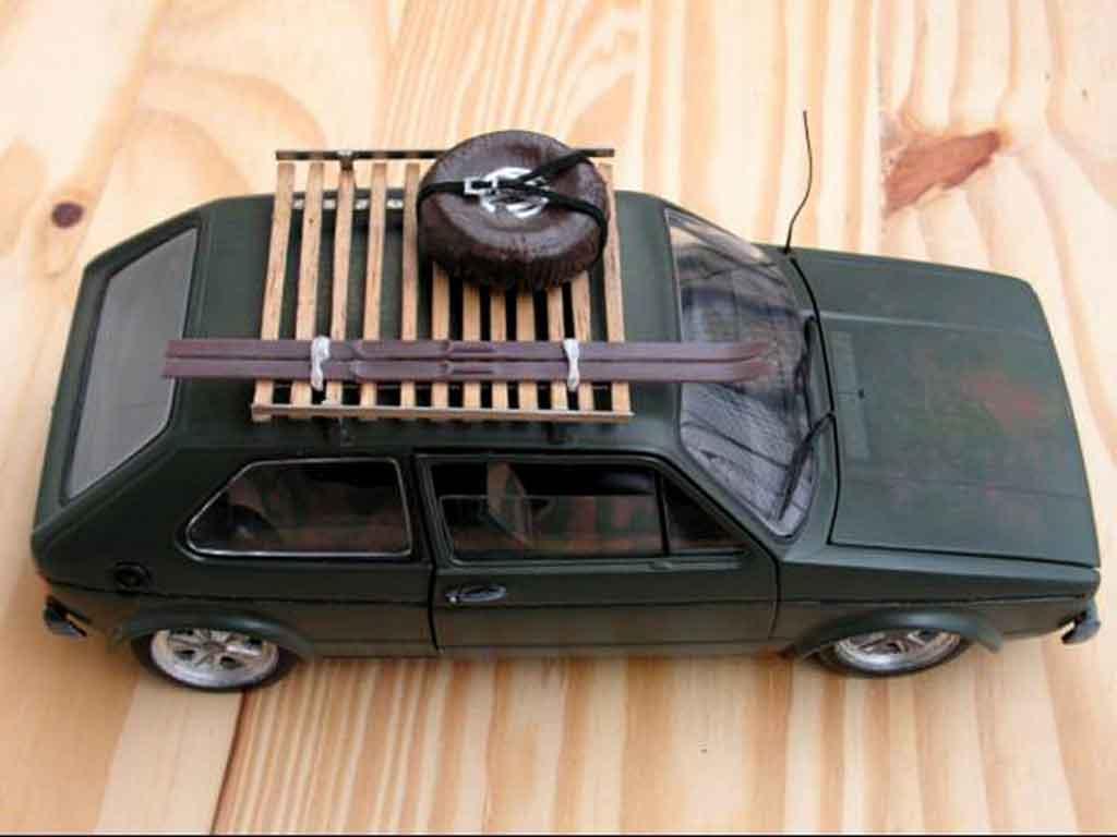 Volkswagen Golf 1 GTI 1/18 Solido rusty