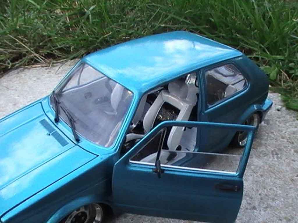 Volkswagen Golf 1 GTI 1/18 Solido swap 16s de 1982