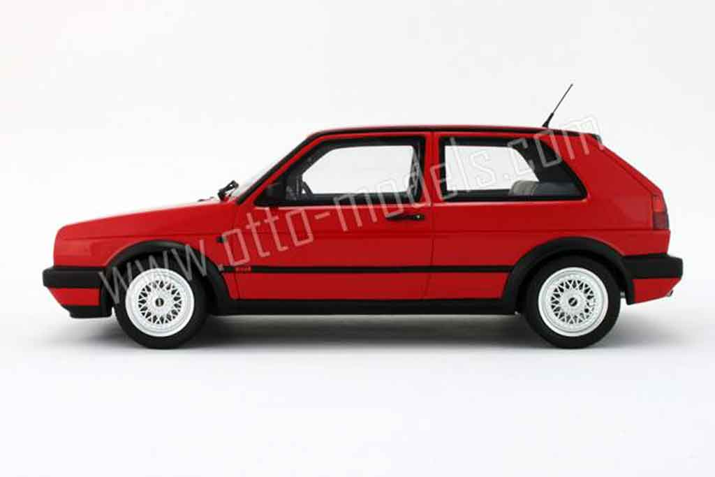volkswagen golf 2 g60 rot 1990 ottomobile modellauto 1 18 kaufen verkauf modellauto online. Black Bedroom Furniture Sets. Home Design Ideas
