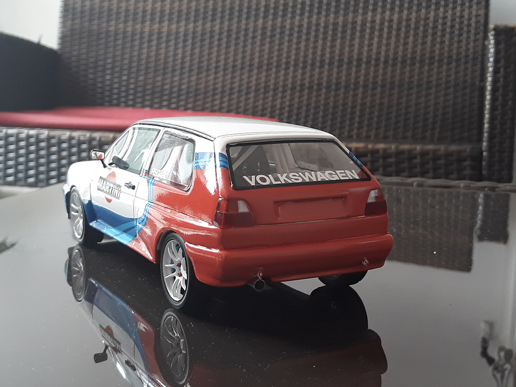Volkswagen Golf 2 Rallye 1/18 Ottomobile G60 martini