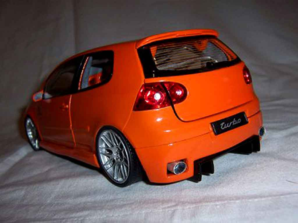 volkswagen golf v gti orange wheels bbs 19 inches norev diecast model car 1 18 buy sell. Black Bedroom Furniture Sets. Home Design Ideas