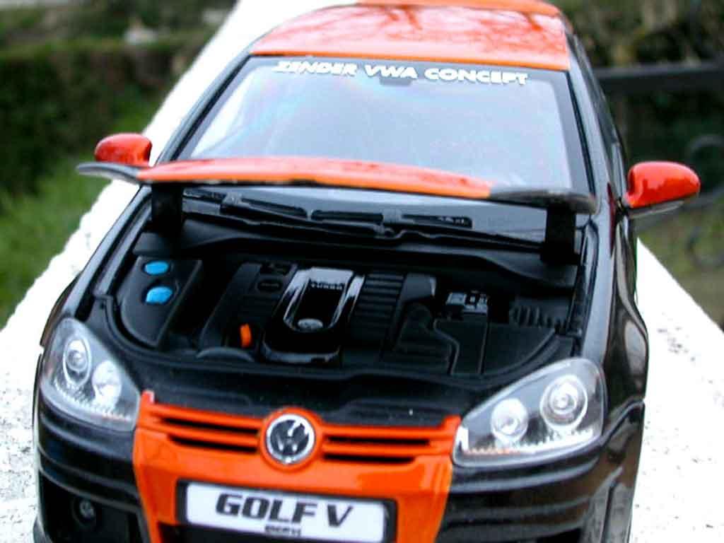 Volkswagen Golf V GTI 1/18 Norev zender jantes alu
