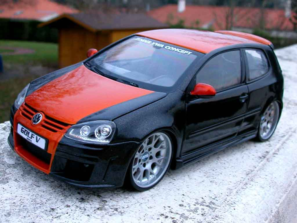 volkswagen golf v gti miniature zender jantes alu norev 1 18 voiture. Black Bedroom Furniture Sets. Home Design Ideas