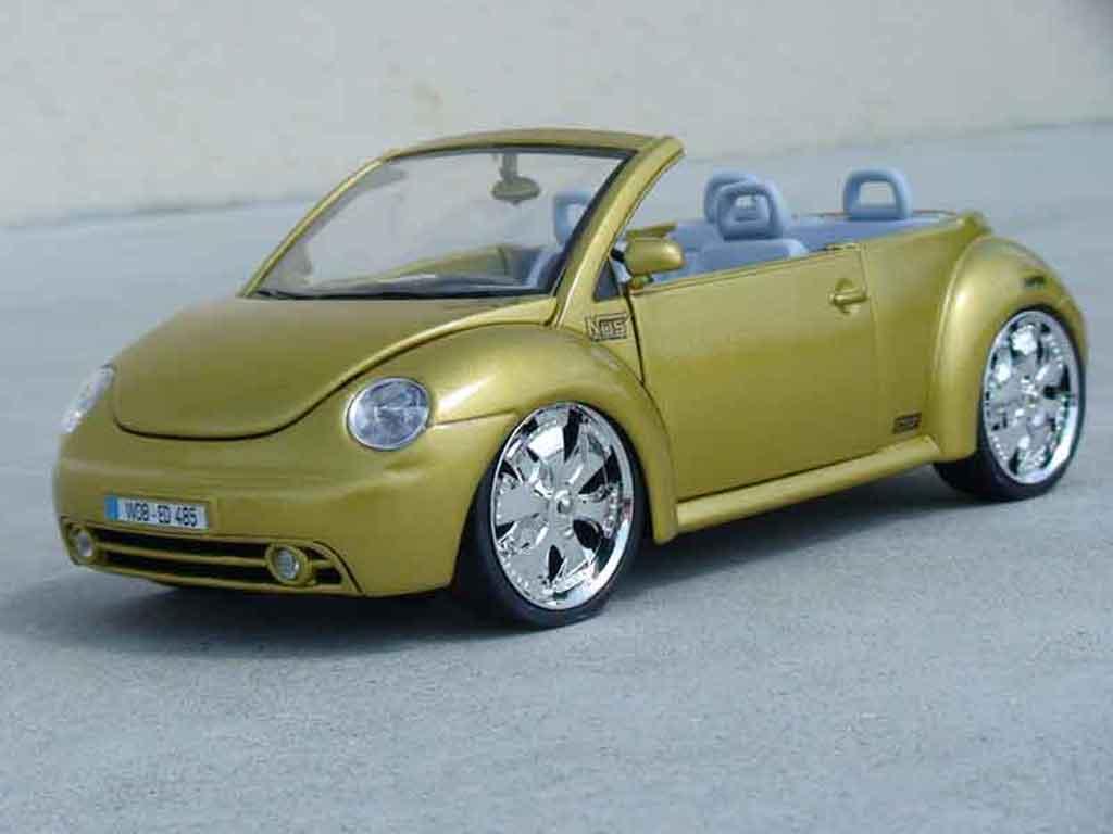 volkswagen new beetle cabriolet west coast burago modellauto 1 18 kaufen verkauf modellauto. Black Bedroom Furniture Sets. Home Design Ideas