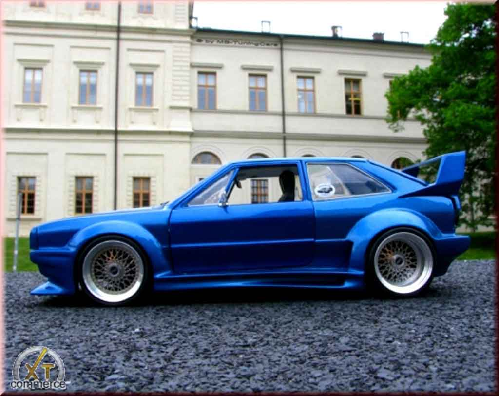 Volkswagen Scirocco GTI kit body gto rieger Revell diecast model car 1 ...