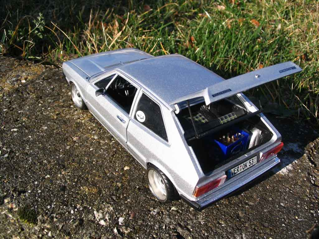 Volkswagen Scirocco GTI 1/18 Revell jantes bords larges a deport