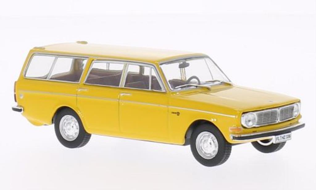 Volvo 145 1/43 WhiteBox jaune 1973