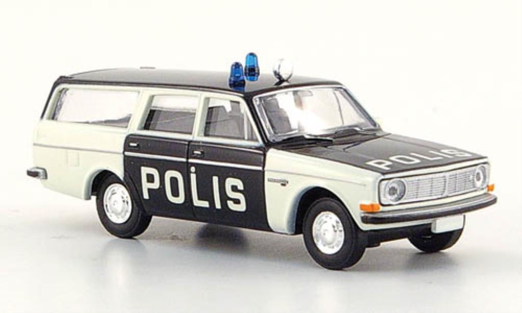 Volvo 145 1/87 Brekina Polis Polizei Schweden