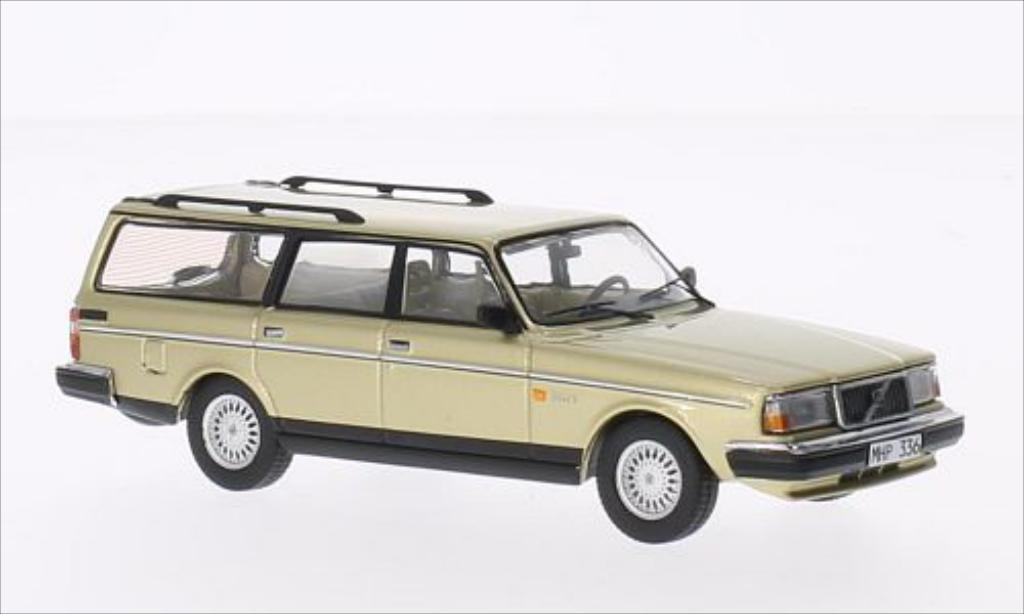 volvo 240 polar metallic beige 1988 mcw modellauto 1 43 kaufen verkauf modellauto online. Black Bedroom Furniture Sets. Home Design Ideas