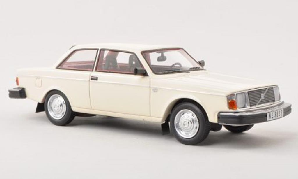 Volvo 242 1/43 Neo DL white 1979 diecast model cars
