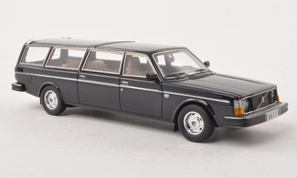 Volvo 245 1/43 Matrix Transfer bleu diecast model cars