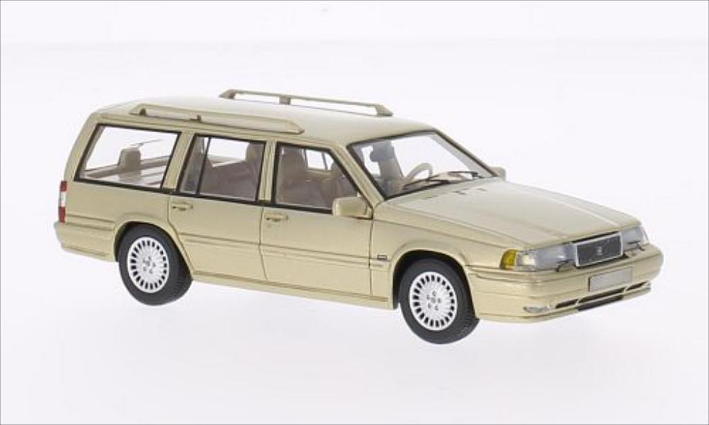 Volvo 960 1/43 Neo Estate metallise beige 1996 diecast model cars