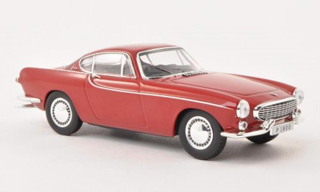 Volvo P1800 1/43 Norev red 1963 diecast model cars