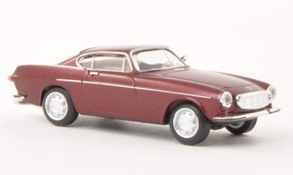Miniature Volvo P1800 rouge Herpa. Volvo P1800 rouge miniature 1/87